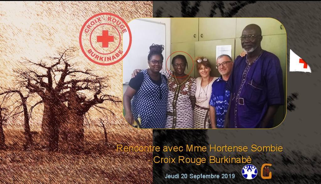 Un partenariat possible avec la Croix Rouge burkinabè