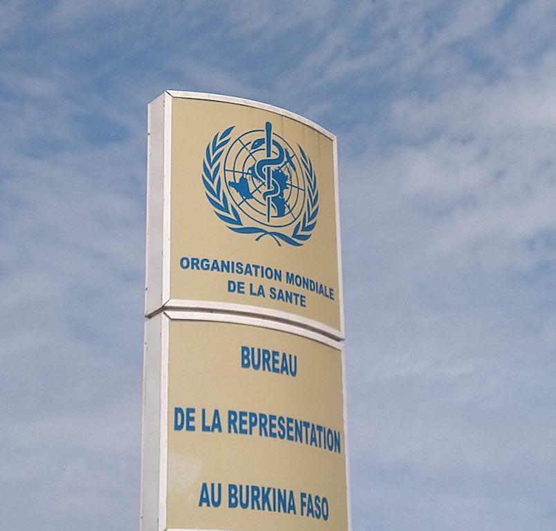 Au Bureau de l'OMS Ouaga