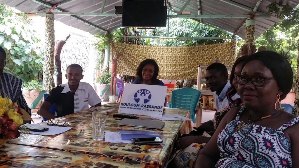Première réunion avec Kouloum-Rassande