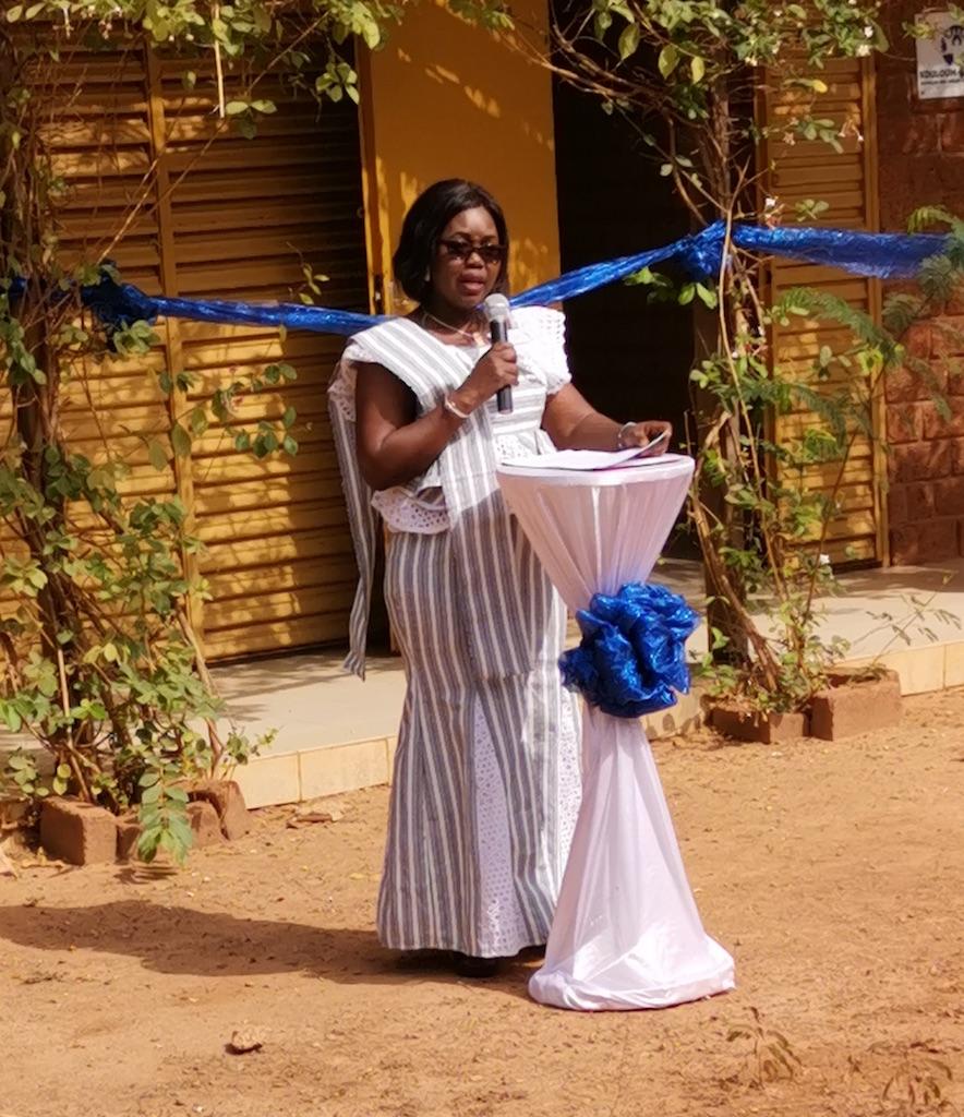 La président de Kouloum-Rassande