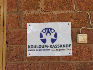 Inauguration du Centre Kouloum-Rassande
