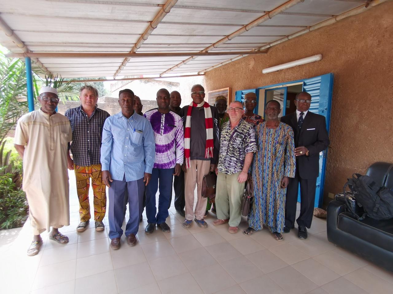 Une délégation du CRPA à la Mairie