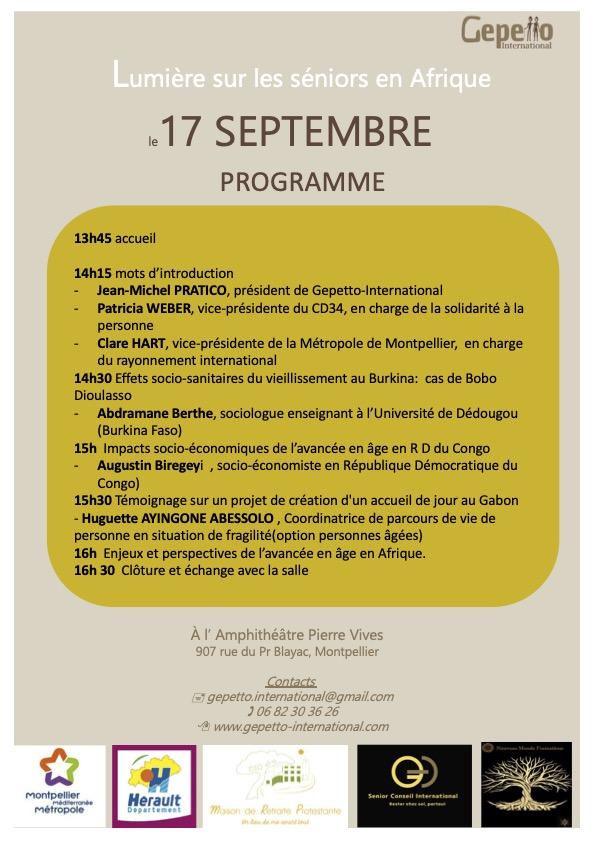 17-Septembre.Programme
